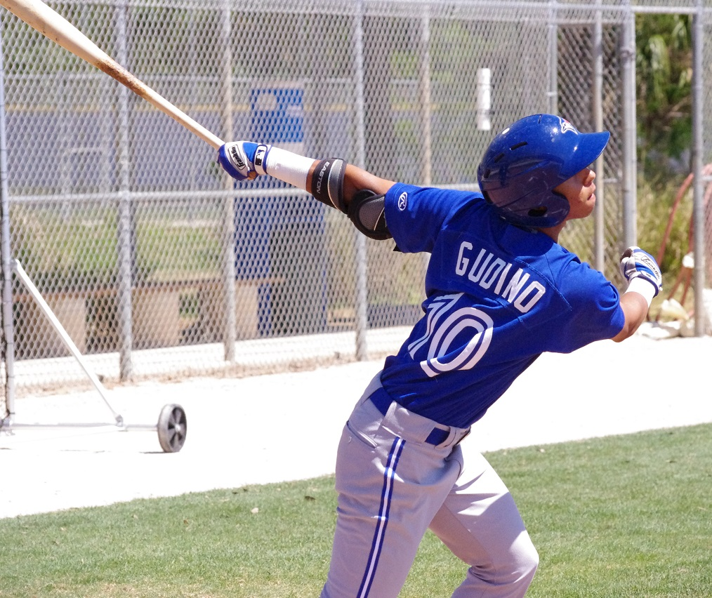 Yeltsin Gudino was one of the Jays' big signees in the 2013 international free agent market