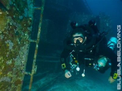 CCR rebreather Diving Wrecks
