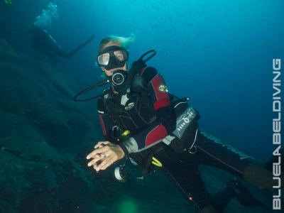 Female WRECK DIVER