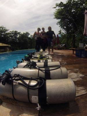 PADI Tec Side Mount Instructor