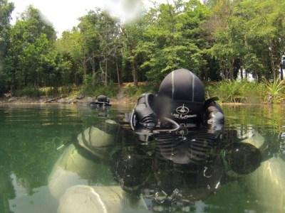 Song HOng lake - cave diving thailand
