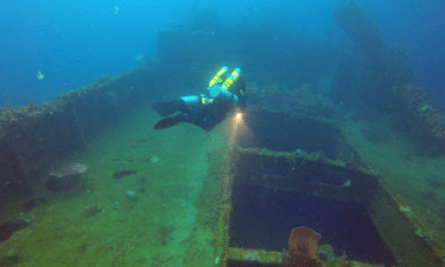 Wreck diving courses TDI