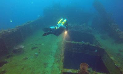 Wreck diving courses TDI