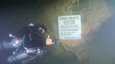 Dive sign