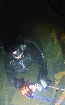 SSI XR Wreck inside wreck