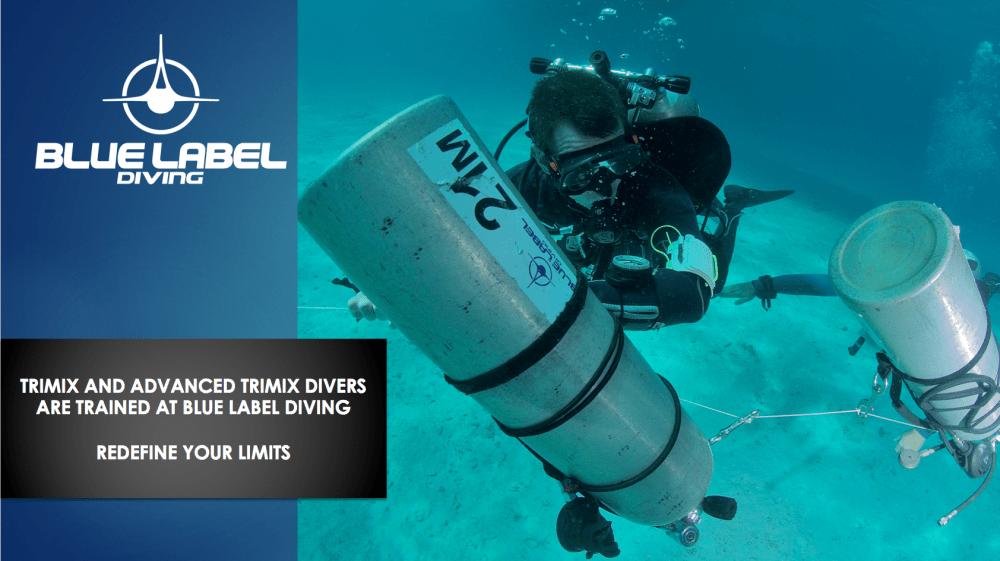 trimix diving courses page