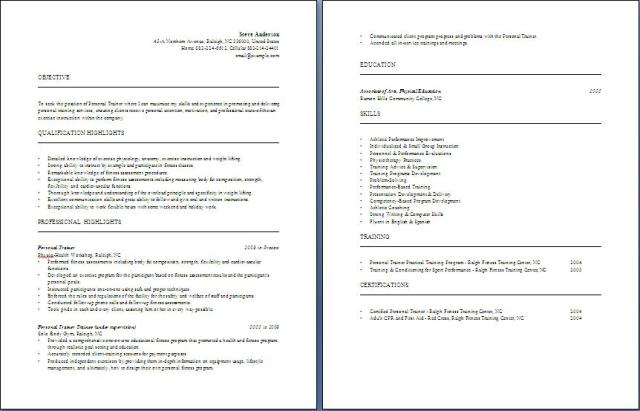Personal Trainer Resume group fitness instructor resume sports fitness resume fitness personal trainer resume sample personal trainer resume template free personal trainer resume Personal Trainer Resume Free Layout Format