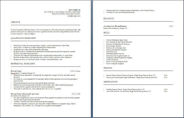 trainer resume top marine mammal trainer resume samples - Personal Trainer Resume Examples