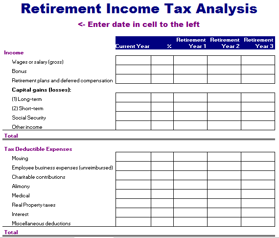 Income Tax Template. income tax calculation formula with if ...