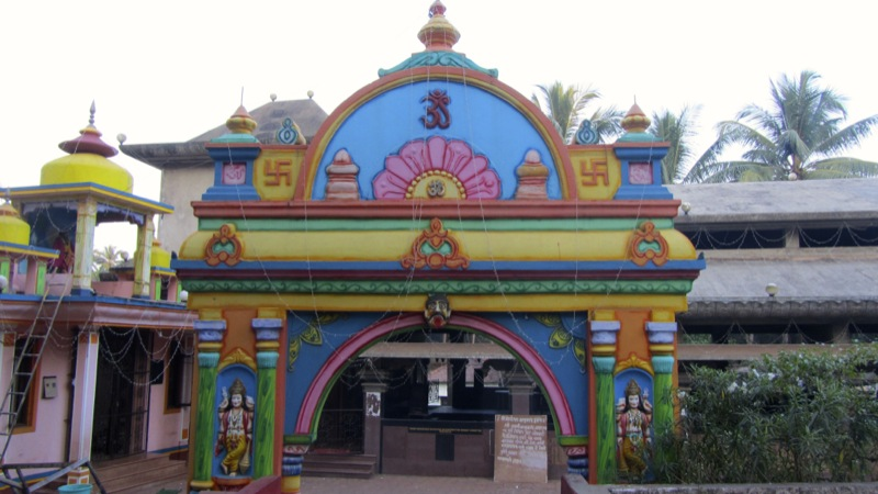 Hindu Temple - Chapora