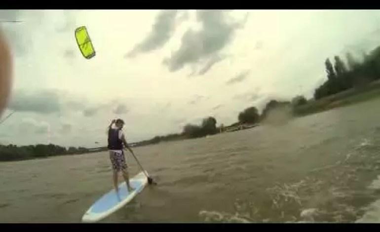 Kitesurfing i SUP w samym centrum Warszawy