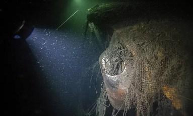 Pусалка - wrak carskiego okrętu