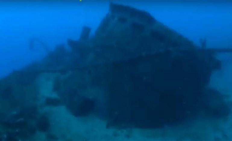 Wrak bizantyjskiego statku u wybrzeży Scylii