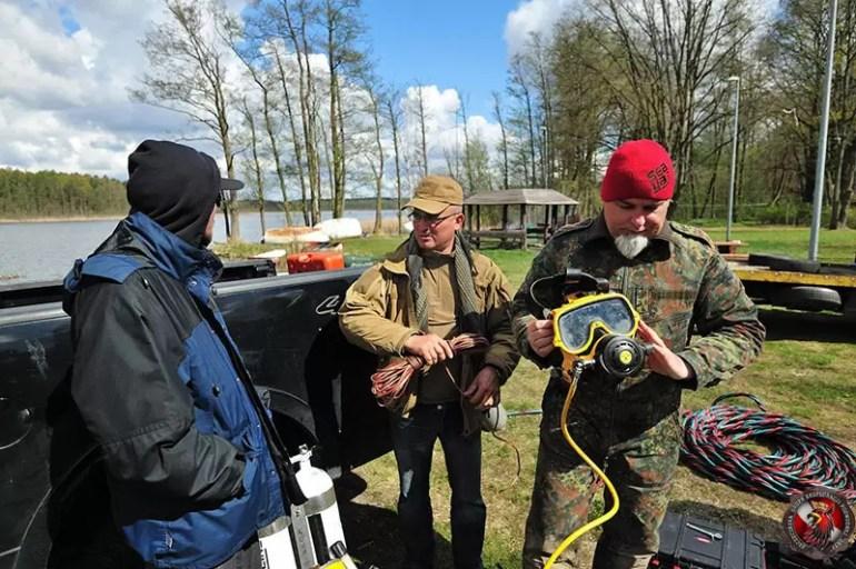 Szczecińska Grupa Eksploracji Podwodnej Gryf poszukiwania podwodnych zabytków