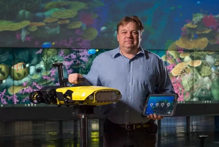 Profesor Matt Dunbabin z Queensland University of Technology