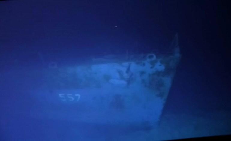 Victor Vescovo materiały nakręcone podczas misji / USS Johnston (DD 557)