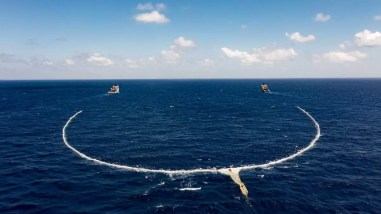 System Ocean Cleanup