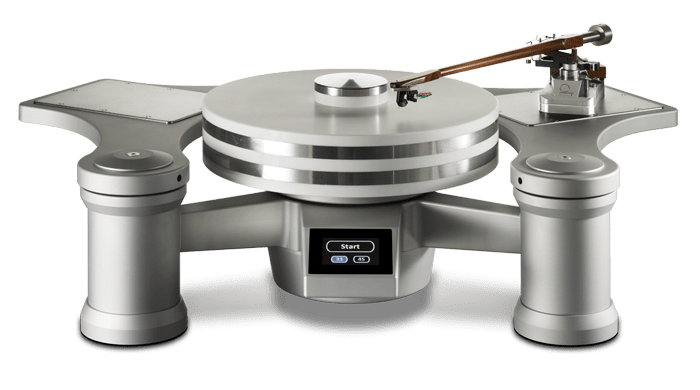 Wave Kinetics NVS Reference Turntable Front View