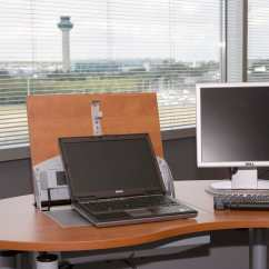 Office Chair Rail Single Futon Smart-desk3 - Blueline Furniture