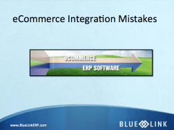 eCommerce Integration Mistakes
