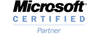 Blue Lions Systems are a Microsoft Certified Partner