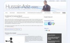 Another Customized Wordpress Blog