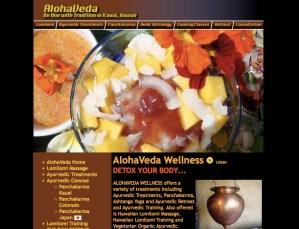 Ayurveda/Massage Website Design