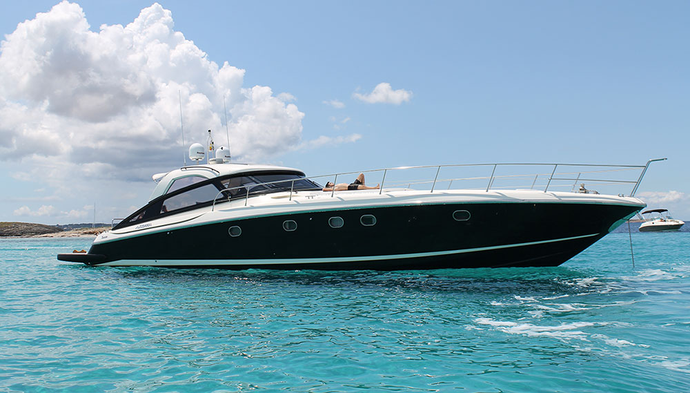 Baia Azzurra 63 Boat Rental Amp Hire Ibiza Bluemarine