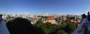 Panoramablick vom Golden Mount