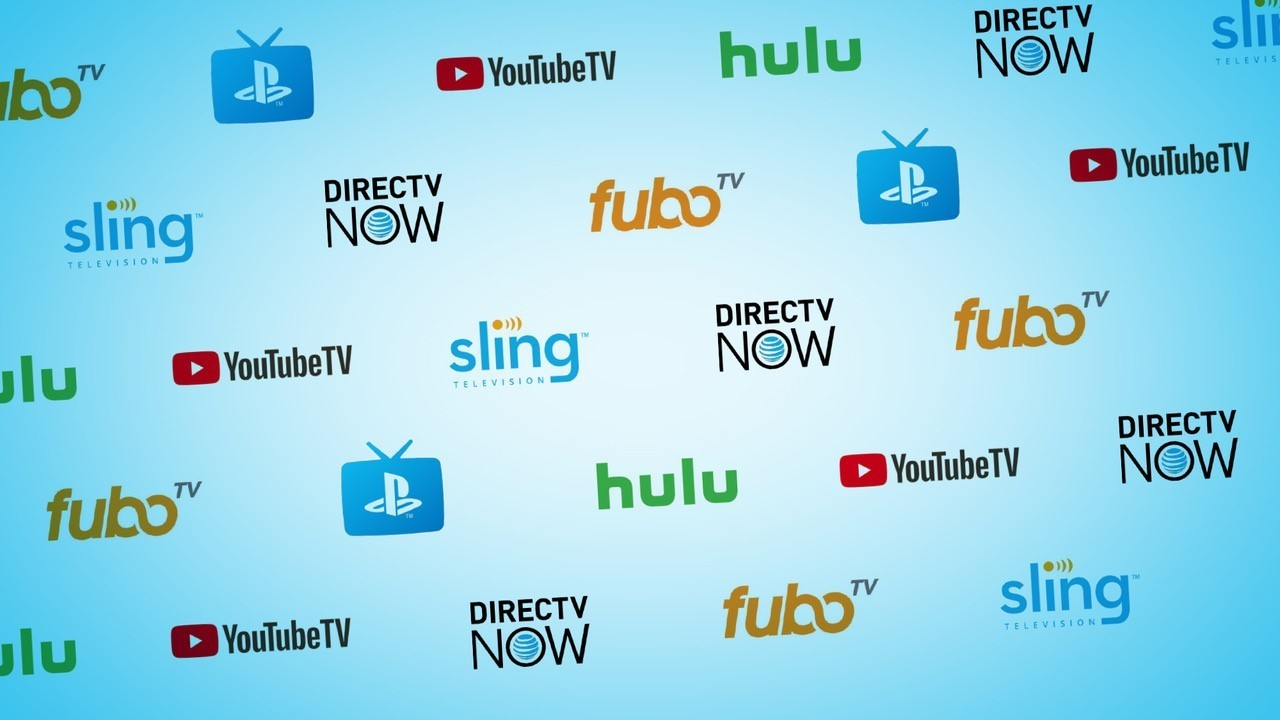 2018 Best streaming TV services DirecTV Now YouTube TV