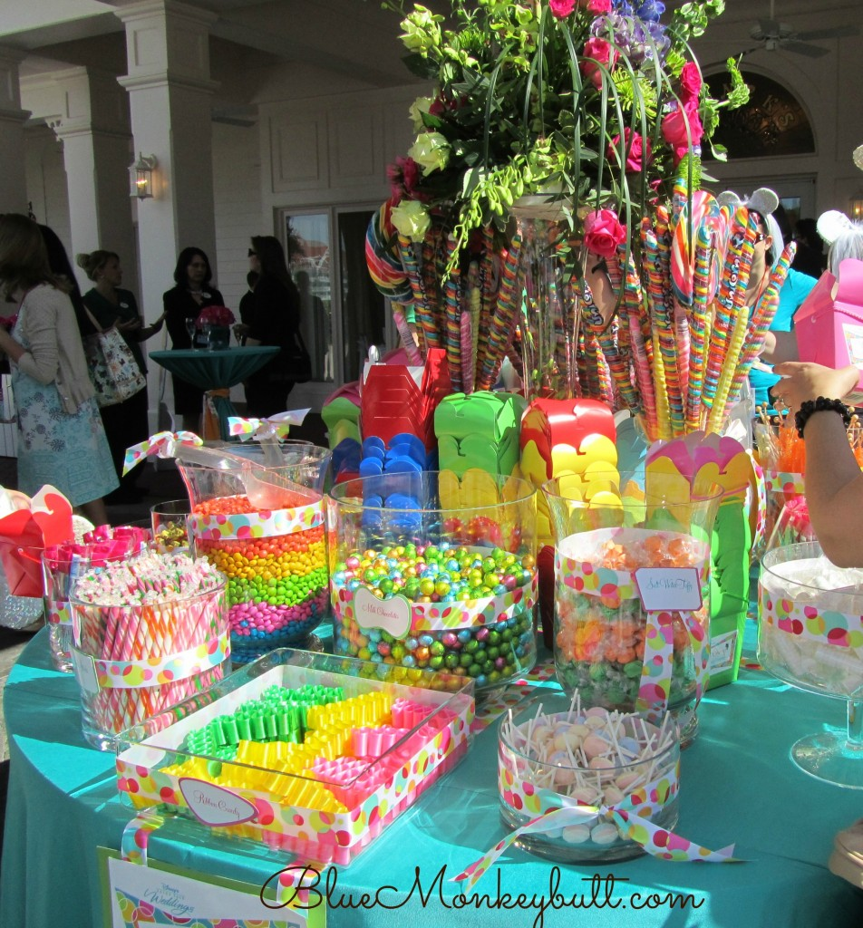 Candy Table at Disney Social Media Moms  Blue Monkey