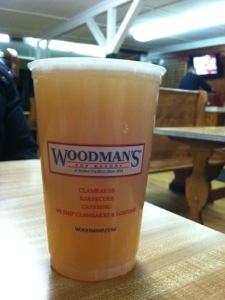 Beer at Woodman's of Essex