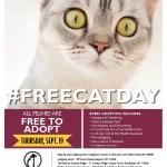 Free Cat Day!