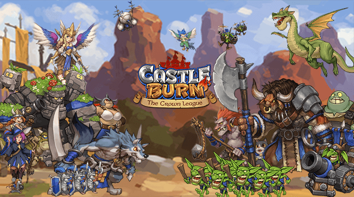 Castle Burn Units Guide is Here - Blue Moon Game