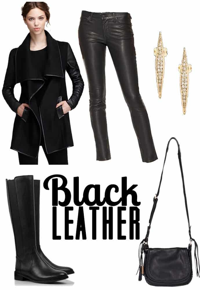 Black Leather | Blue Mountain Belle