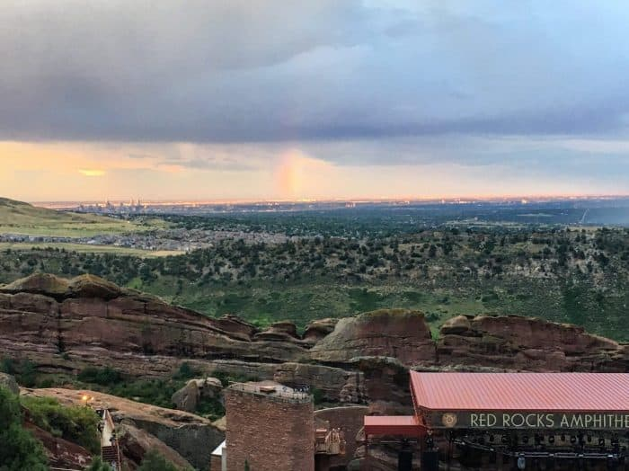 How to Plan a trip to red rocks amphitheater outside denver