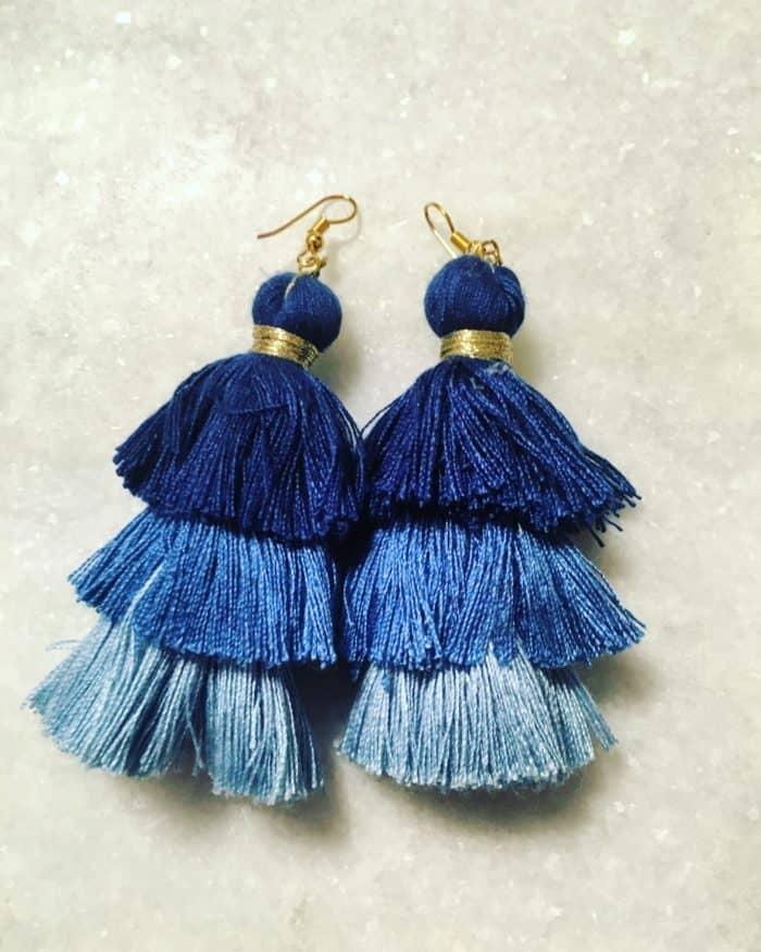 SouthernSequins Lola Tassel Earings