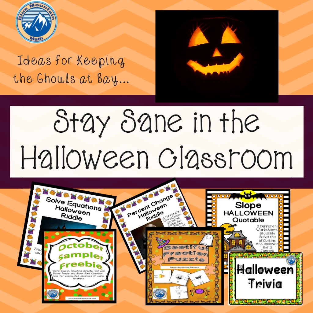 Stay Sane In The Halloween Classroom