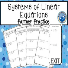 linear systems partner practice