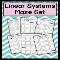 linear system maze activity