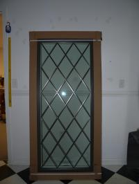Blue Mountain Stained Glass - LEADED GLASS CABINET DOOR ...