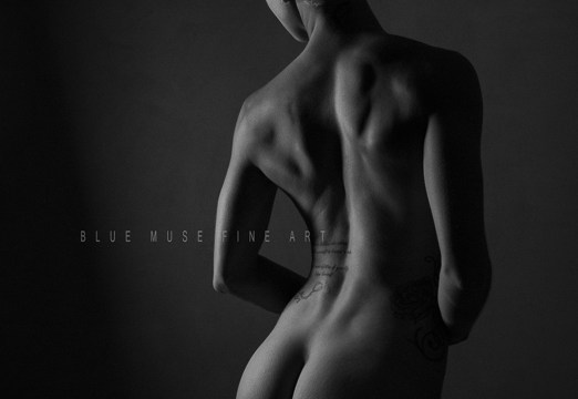 Blue Muse Fine Art with Samantha Rose. Discipline. 2013.