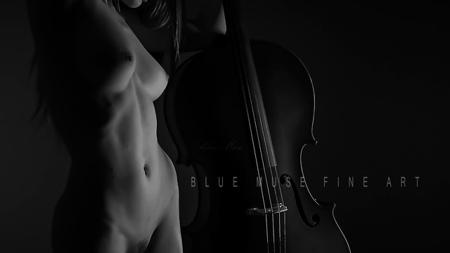 Blue Muse Fine Art with Damianne. On Yearning. 2012.