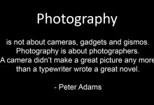 Opinion - Capitalism 101 for photographers