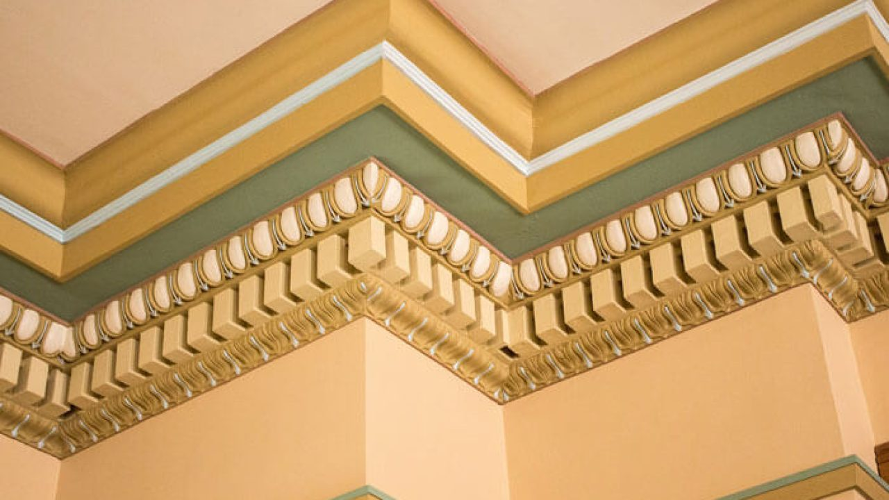 crown molding a brief history