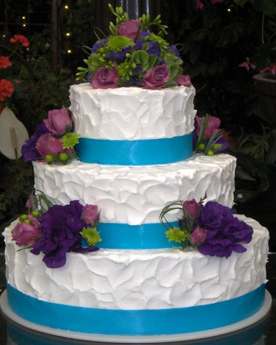 Blue Ribbon Bakery and Caf  The finest bakery products in New Jersey  Butter Cream Wedding Cakes