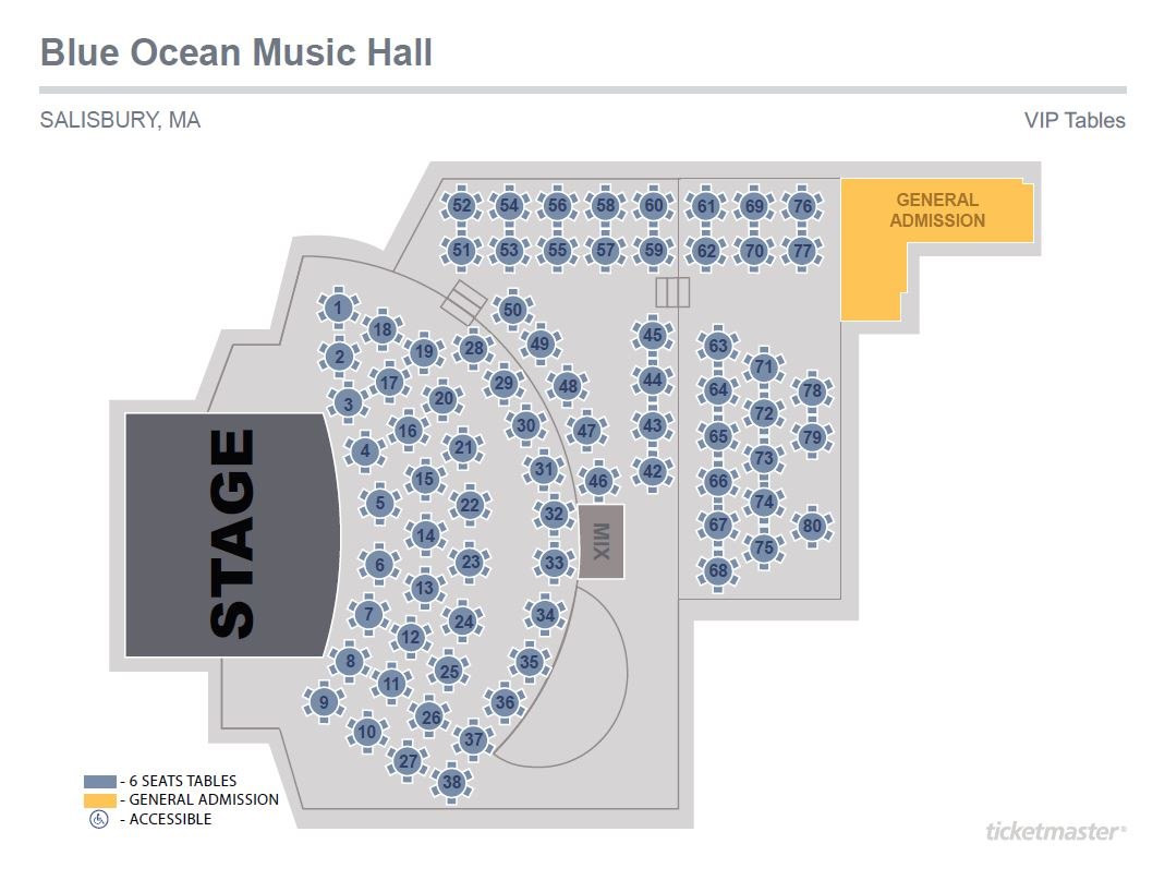 hight resolution of blue ocean hall seating chart