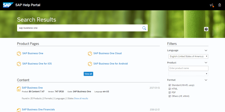 Revamped SAP Help Portal | Blue Ocean Systems Blog