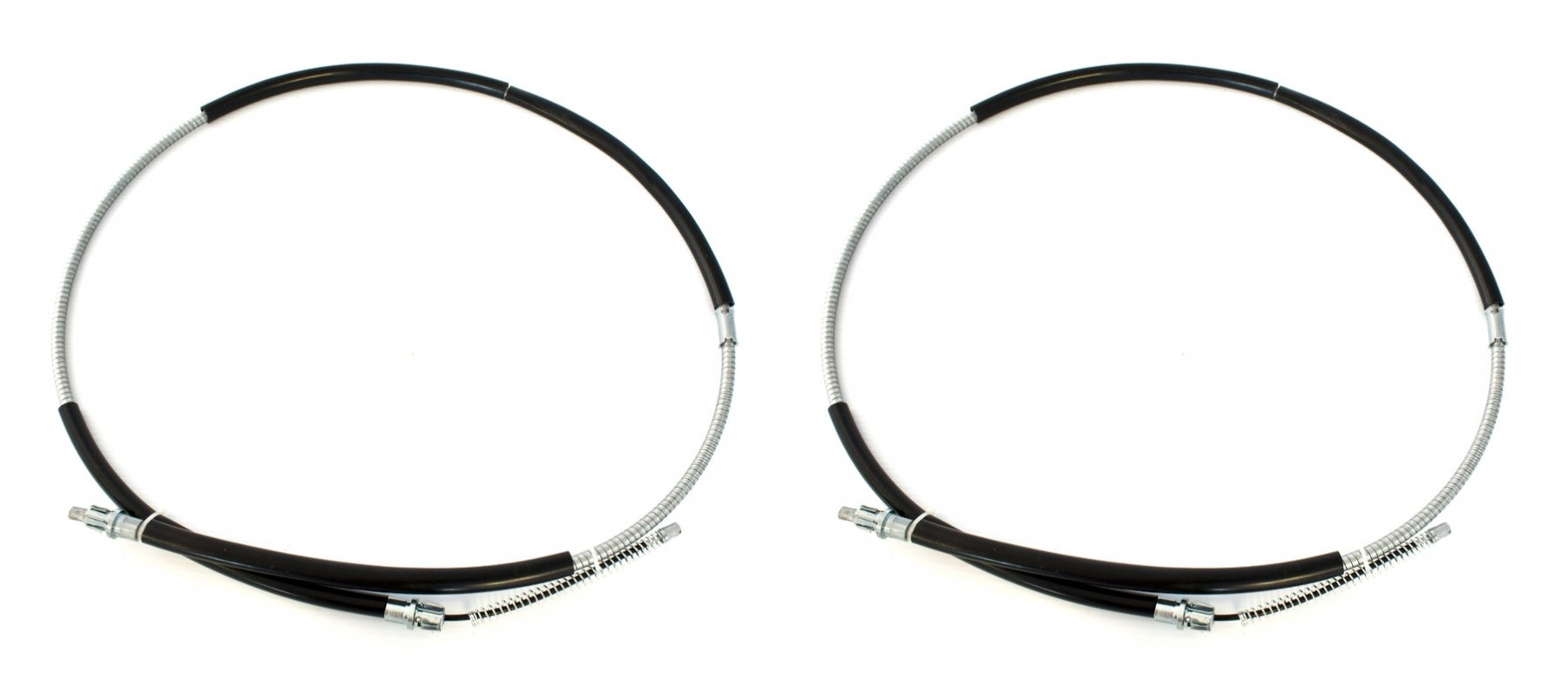 Ford Mustang 68 Parking E Brake Cables For Drum