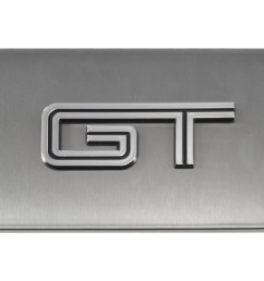 more views 2005 2009 ford mustang brushed satin stainless engine fuse box cover  [ 1400 x 780 Pixel ]